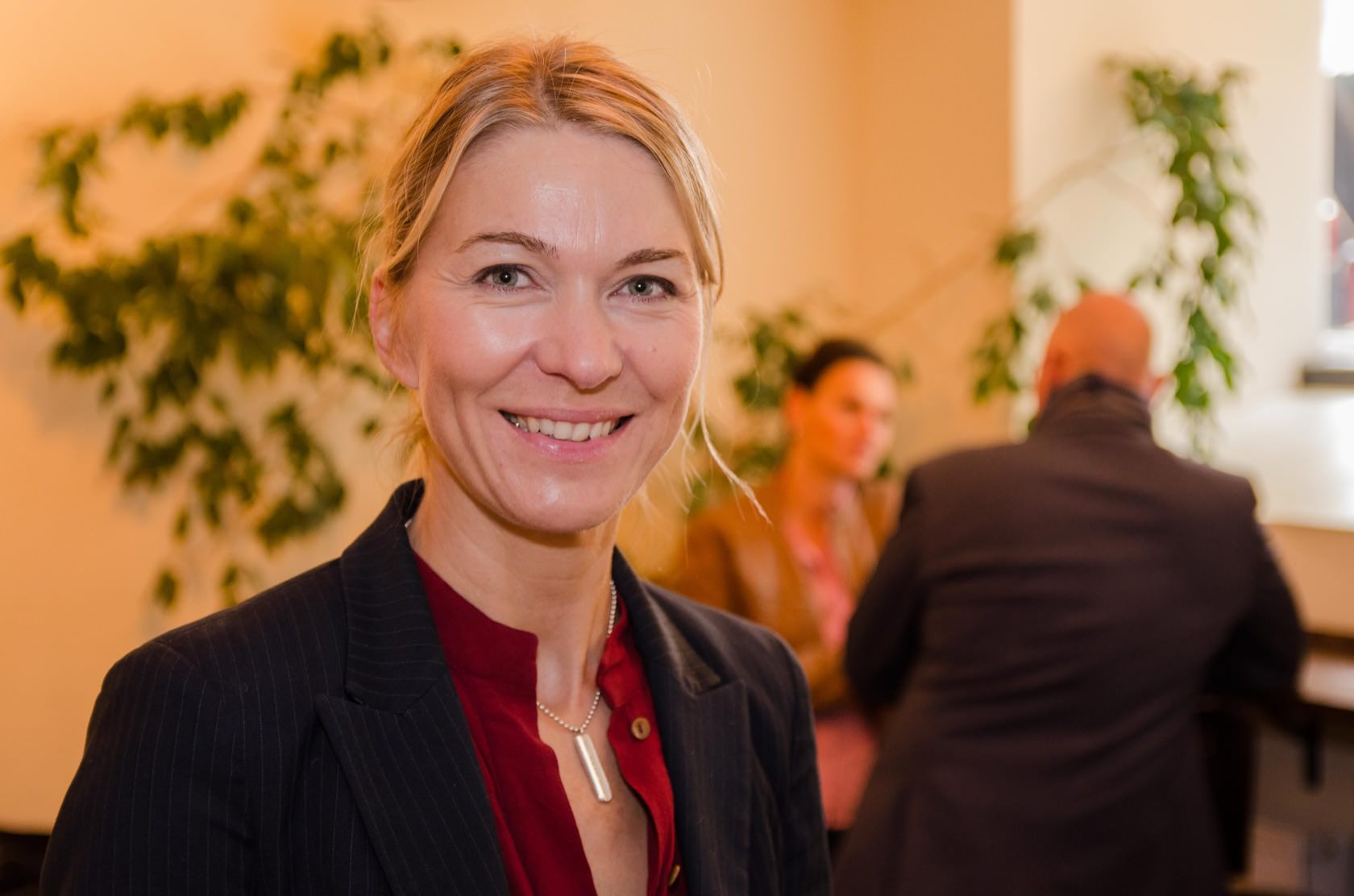 Der Vortrag von Heike Brandt kam bei den Zuhörern sehr gut an.