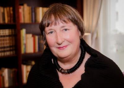 Gedankenspaziergängerin Sylvia Schreiber
