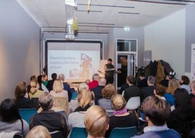 Es wurde sehr neugierig gemacht auf das Berliner Start-Up