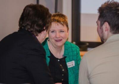 Karin Rasmussen unterhielt sich mit Barbara und Oli