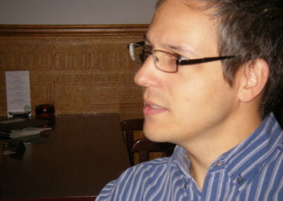 Daniel Förster von enterpriselab sucht Kooperationen.