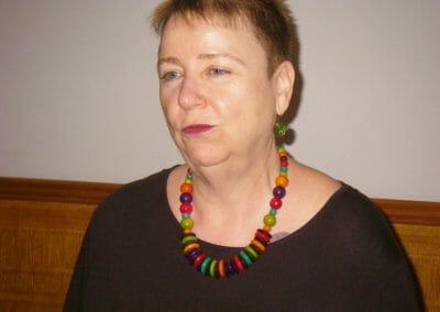 Gastgeberin Barbara Fischer