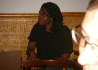 Rechtsanwältin Ingrid Yeboah betreut vor allem Künstler.