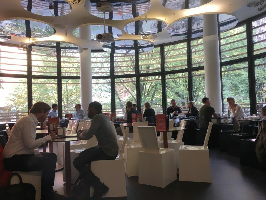 Auf dem Event hatten wir eine tolle Mischung von Berliner Unternehmern und Unternehmerinnen aus den verschiedensten Branchen