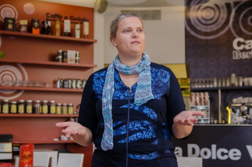 Katrin Kirchert hat mit ihrem Impuls jede Menge neue Informationen unters Volk gebracht
