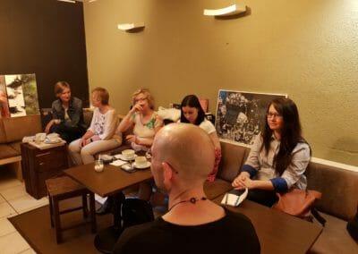 Mehr als 15 Teilnehmer nahmen bei unserem Event in Kreuzberg teil