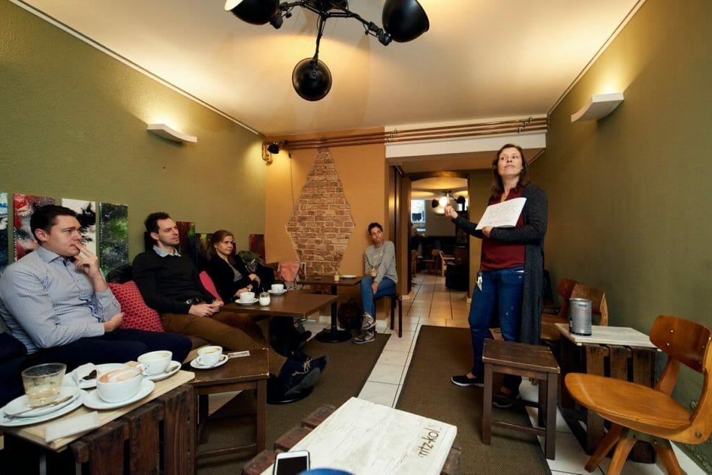 Uta hatte ein kleines Excel-Rätsel für alle Teilnehmer des Meetups vorbereitet
